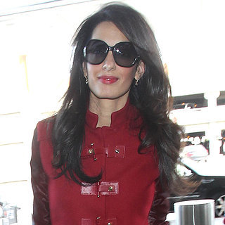 Amal Alamuddin at LAX 2015 | Pictures