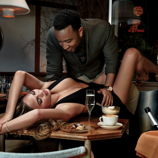 Chrissy Teigen and John Legend Sexy Pictures in GQ 2015