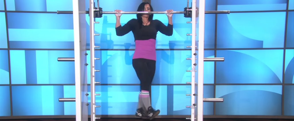 This Personal Trainer's Impressive Pull-Up Routine Left Ellen Speechless