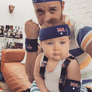 Pictures of Celebrities Wearing the Australian Flag