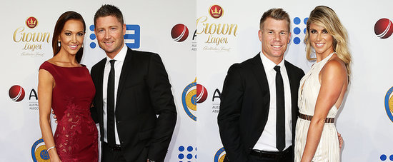 Cute Cricket Couples Shine at the 2015 Allan Border Medal