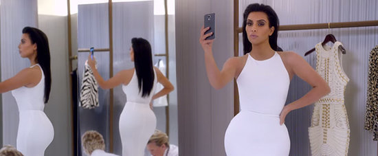 Kim Kardashian Mocking Her Own #OOTD Selfies Will Crack You Up