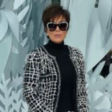 Kris Jenner's Sheer Pants at the Chanel Haute Couture Show