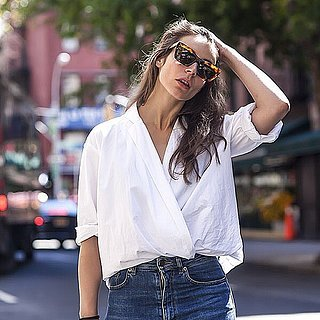 Wrap-and-Tuck Shirt Trend