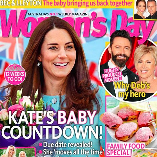Kate Middleton Photoshop Woman's Day Cover