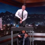 JJ Watt Box Jumps Over Jimmy Kimmel