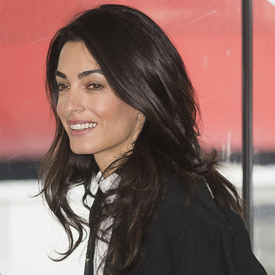Amal Clooney in Court in Strasbourg January 2015