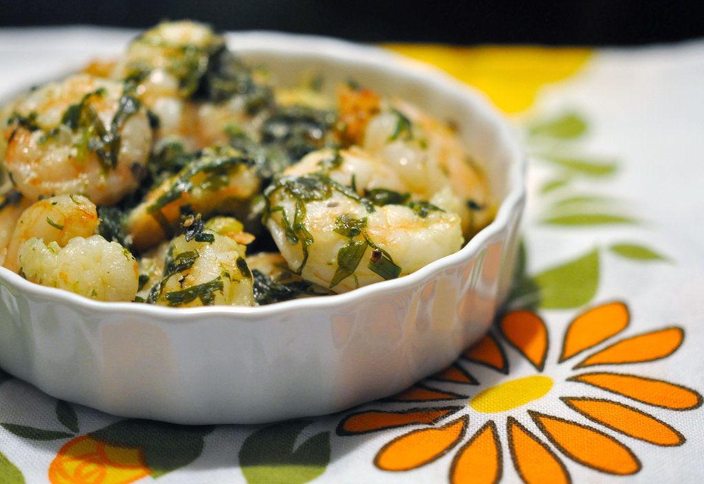 Baked Shrimp With Olive Oil and Herbs