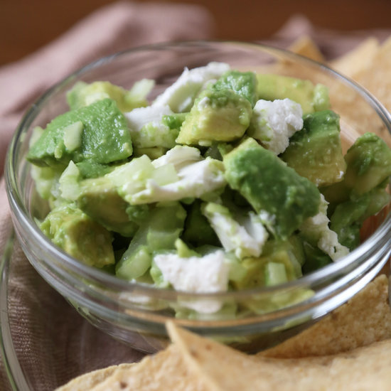 Feta Cheese Guacamole