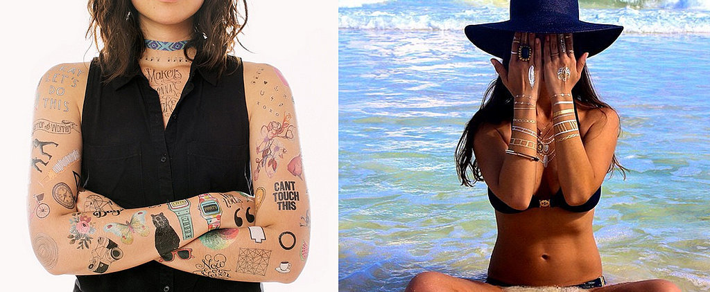 Chic Temporary Tattoos That Look Just Like the Real Thing