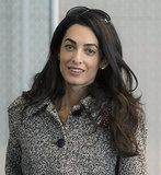 Amal Clooney back in court today arguing for Armenia in case against Dogu Perincek