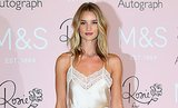 Rosie Huntington-Whiteley Successfully Wears Lingerie Outside the Bedroom