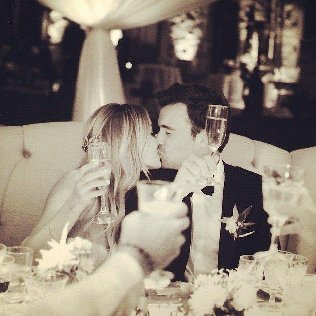 Lauren shared a photo from her wedding.