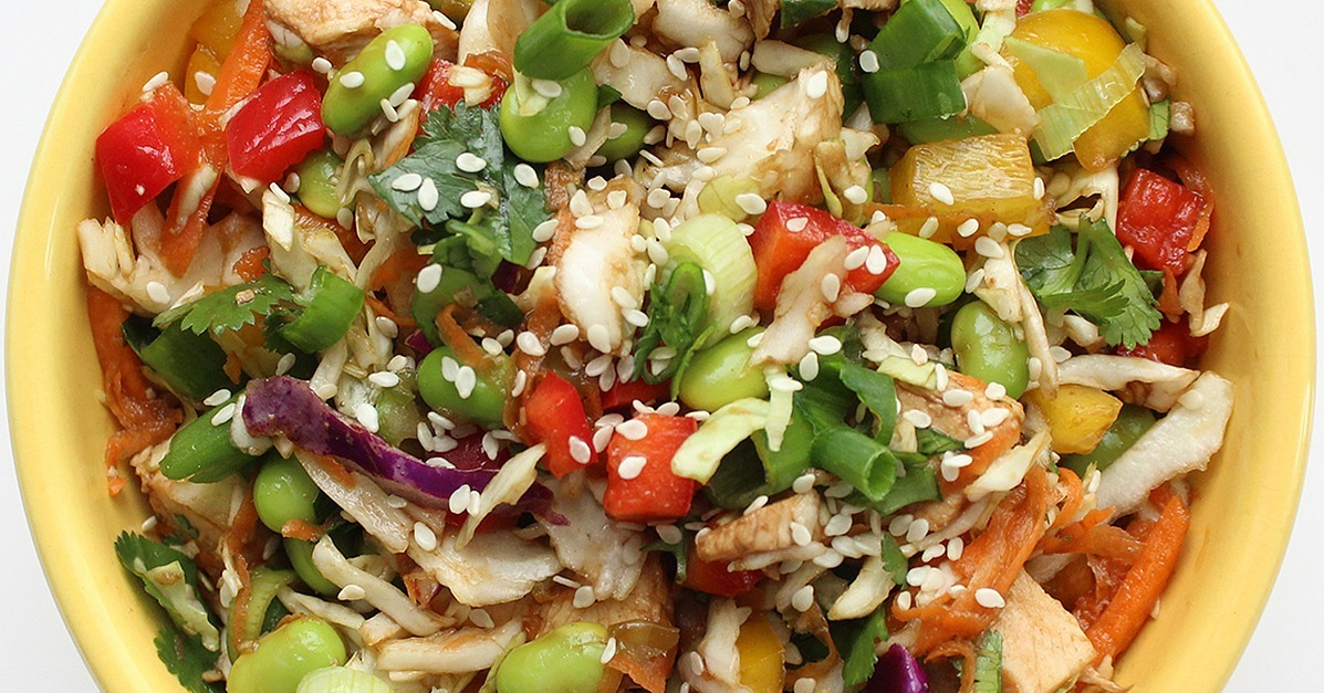 Healthy Chinese Chicken Salad | POPSUGAR Fitness