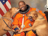 Astronaut Includes His Dogs in Official NASA Portrait