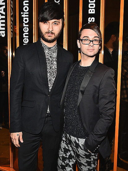 how did christian siriano and brad walsh meet