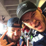 Celebrity Instagram Pictures at the Super Bowl 2015