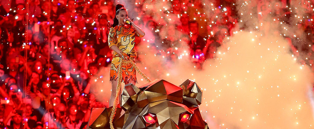Katy Perry Sets the Super Bowl Aglow With Her Wild Half-Time Show