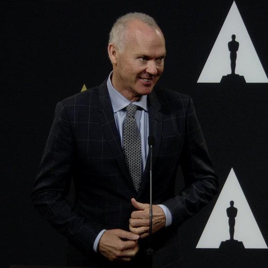 Michael Keaton Oscar Nominees Luncheon | Video