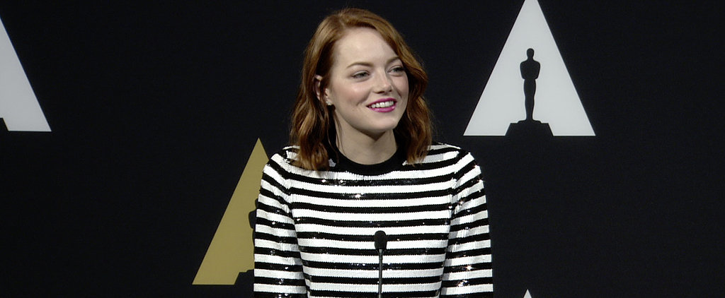 You Have to See Emma Stone React to Hearing That She Looks Beautiful
