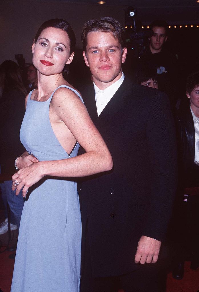 Minnie Driver and Matt Damon in 1997
