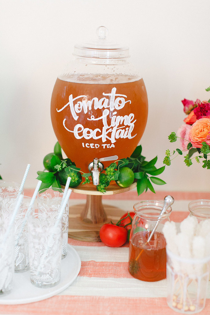 Create a Beverage Bar