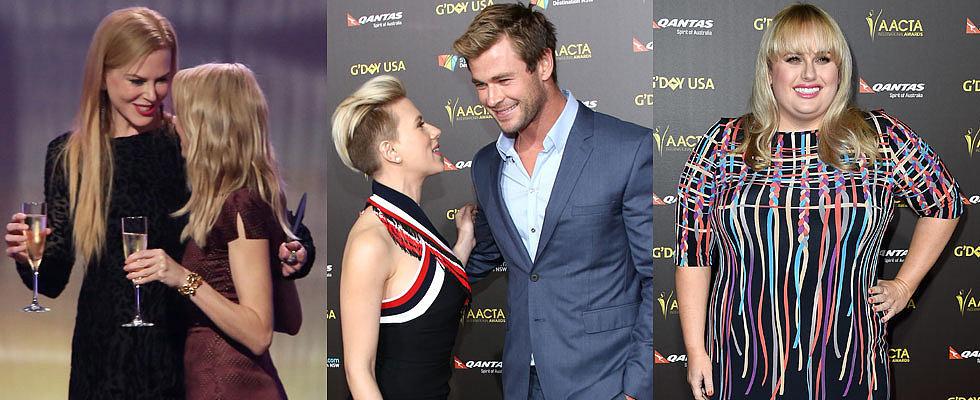 Scarlett Johansson Joins Aussie Stars at G'day LA Gala