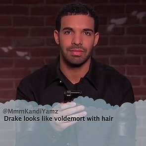 Celebrities Read Mean Tweets Video: Music Edition With Drake