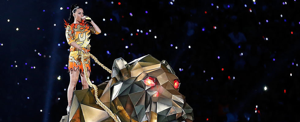 Watch Katy Perry's Entire Super Bowl Performance!