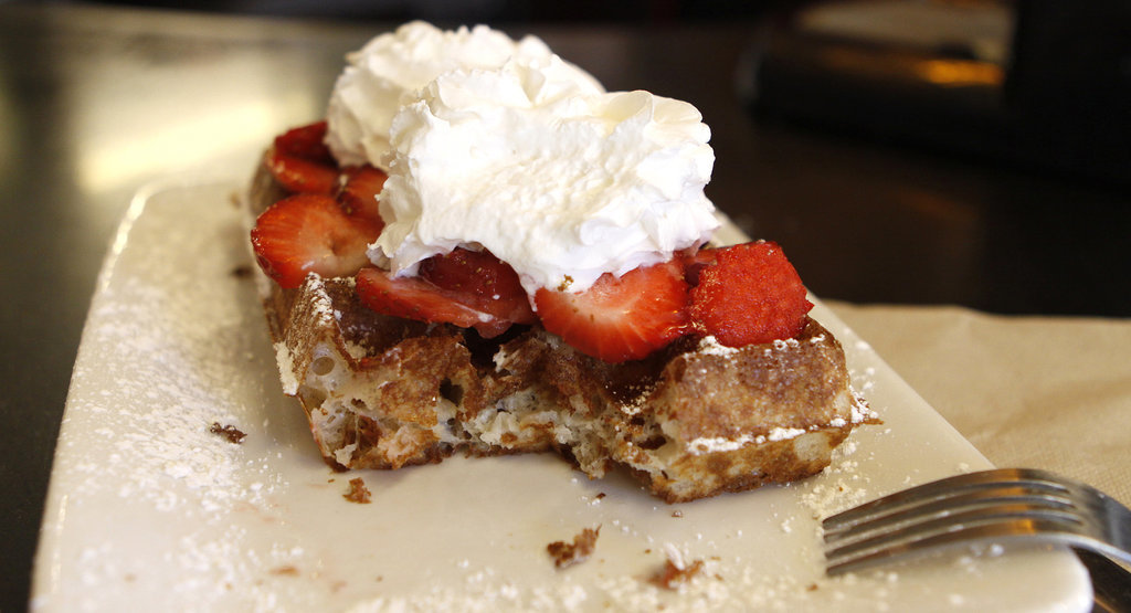 Apparently We've Been Eating Belgian Waffles All Wrong