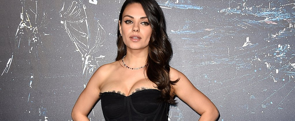 Motherhood Looks Hot on Mila Kunis