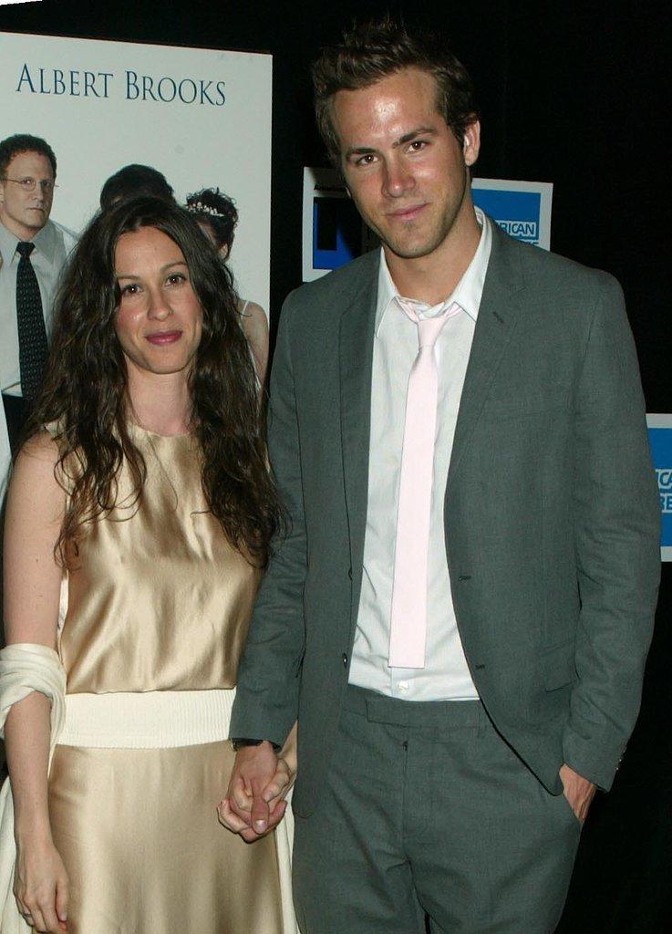Alanis Morissette and Ryan Reynolds in 2003 | Remember ...