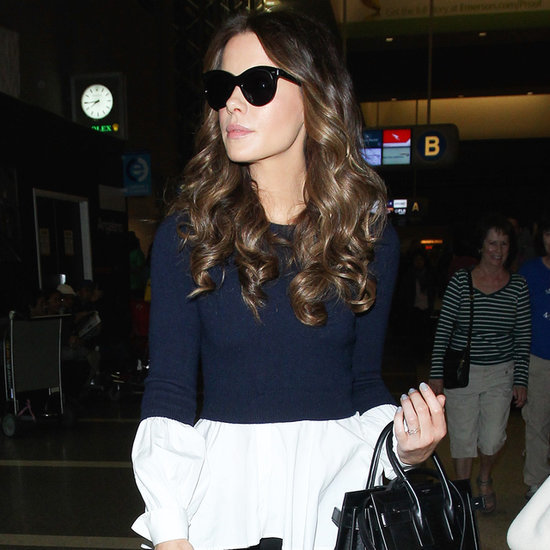 Kate Beckinsale Travel Style