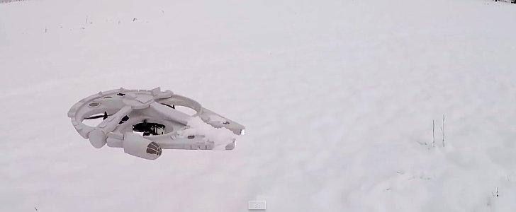 All Drones Should Look Like Mini Millennium Falcons