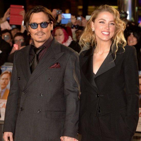Johnny Depp Marries Amber Heard