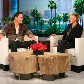 Channing Tatum Debuts Magic Mike XXL Trailer on Ellen Show