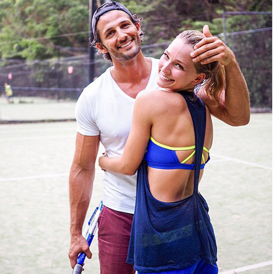 Hot Photos of Celebrity Couples Exercising Together