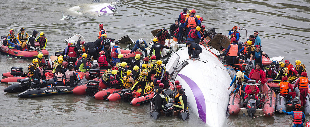 Shocking Footage of the TransAsia Airways Crash Caught on Camera