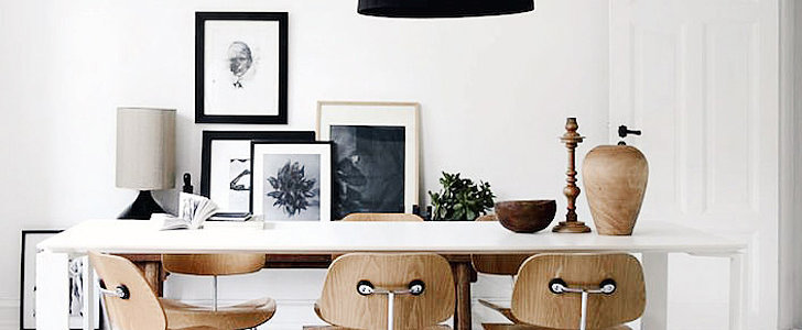 Black and White Art = the LBD of Home Decor