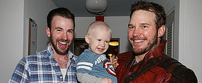 Chris Pratt and Chris Evans Honour Their Super Bowl Bet With Adorable Kids