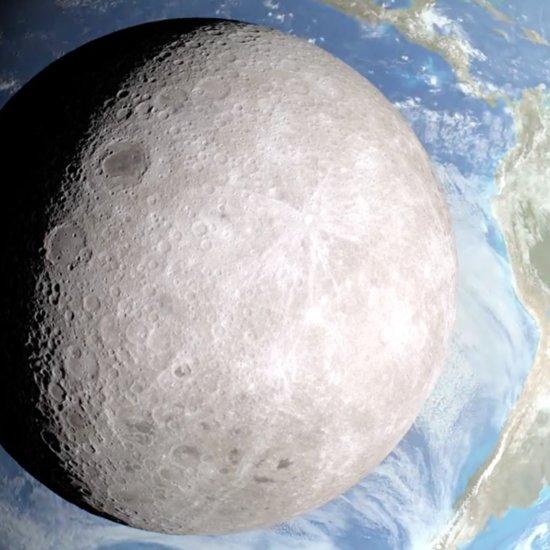 NASA Dark Side of the Moon Video