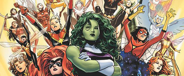 Marvel Assembles an All-Female Avengers For a New Comic-Book Series