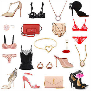 Heels, lingerie and jewellery for Valentines