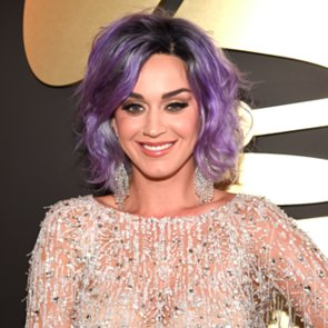 Katy Perry's Purple Hair at the Grammys