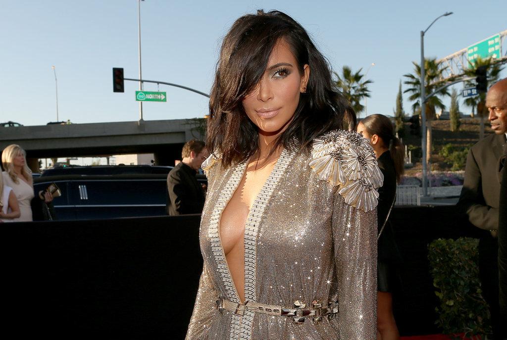 kimberly caldwell hairstyles : Kim Kardashian Short Hair Shag Haircut Side W724 Kim Kardashian Debuts ...
