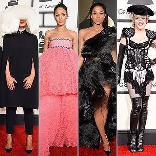 Die besten Kleider bei den Grammys
