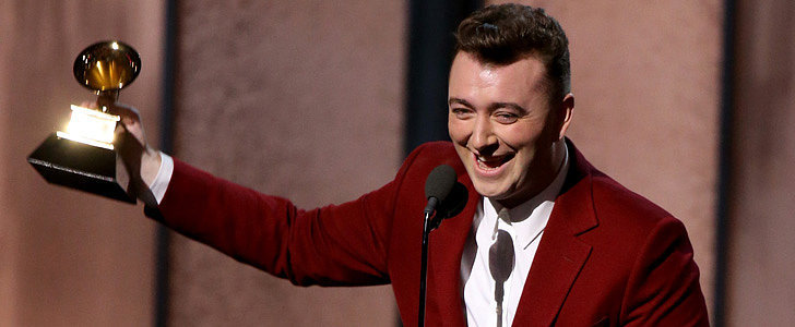 Watch Sam Smith's Adorably Humble Grammys Acceptance Speeches