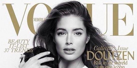 Victoria's Secret Model Doutzen Kroes Breastfeeds In Gorgeous Vogue Photo Shoot