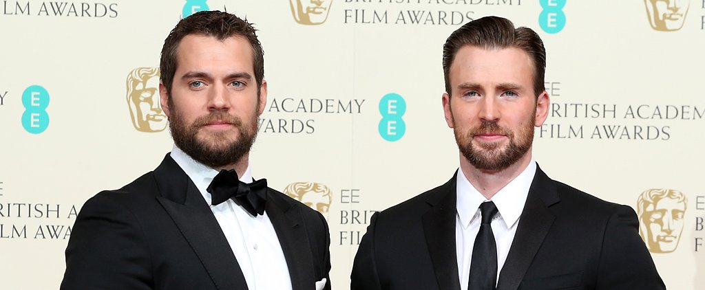 Superman and Captain America Reunite at the BAFTAs