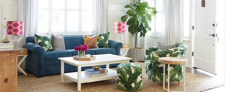 How to Use Tropical Leaf Prints in Every Room